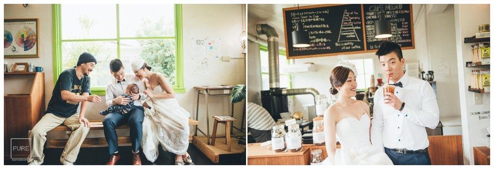 日本海外婚紗,港川外人住宅咖啡店婚紗拍攝