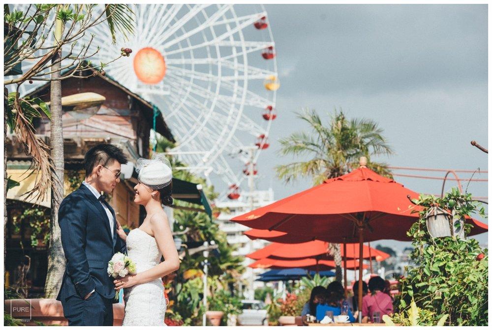 美國村摩天輪婚紗拍攝