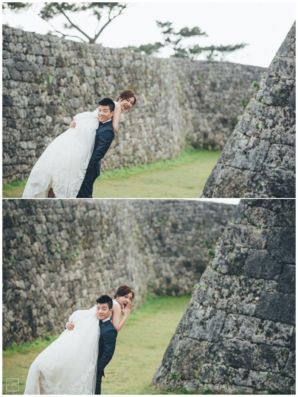 PUREFOTO_海外婚紗攝影Oversea_Prewedding_座喜味城婚紗拍攝