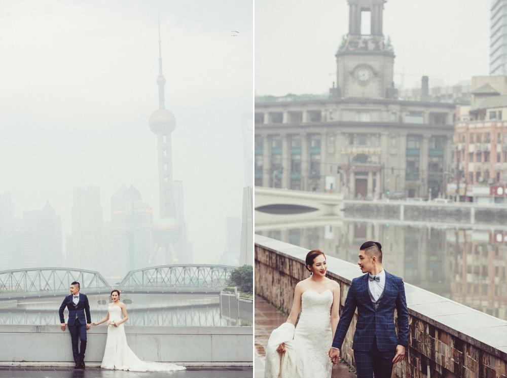 上海婚紗,上海外灘