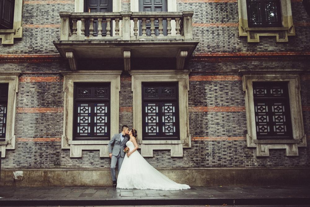 新天地婚紗拍攝,上海婚紗