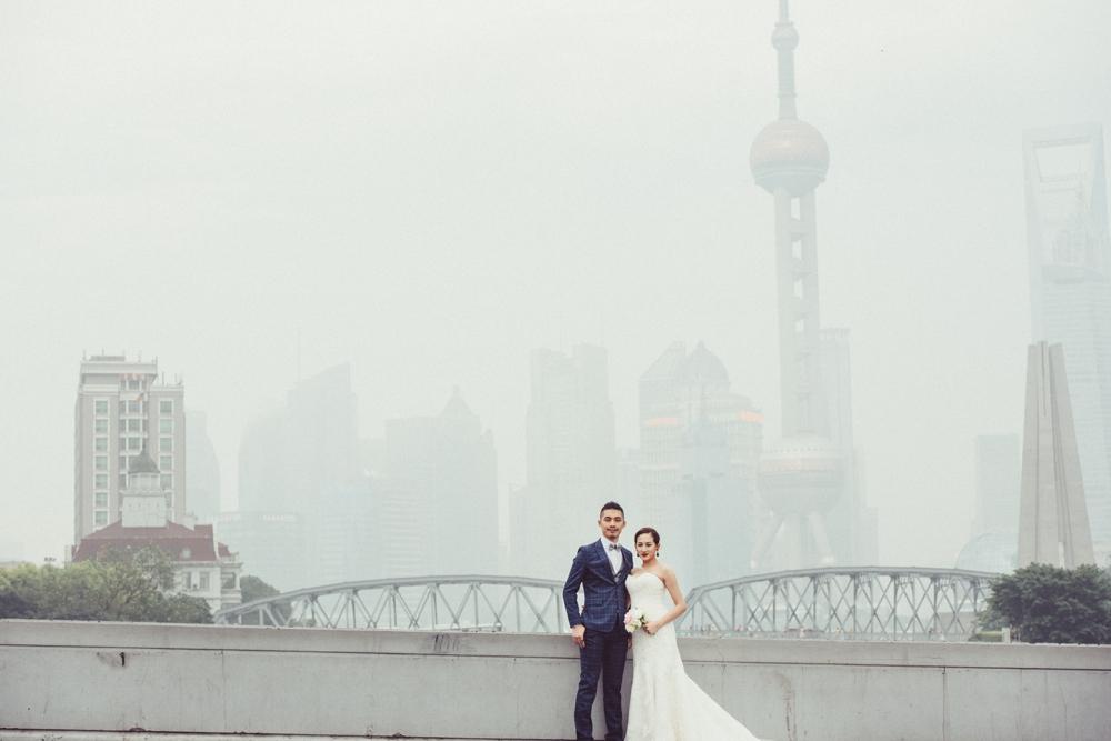 東方明珠婚紗拍攝