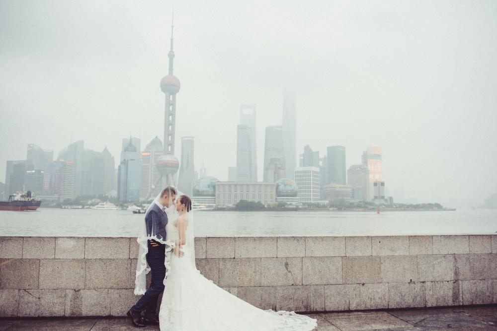 外灘婚紗拍攝,海外婚紗