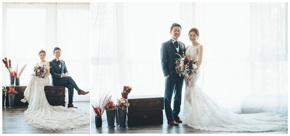 PUREFOTO_台灣自助婚紗攝影Prewedding_PURE攝影棚拍