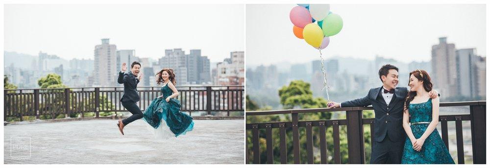 PUREFOTO_台灣自助婚紗攝影Prewedding_政大校園婚紗照