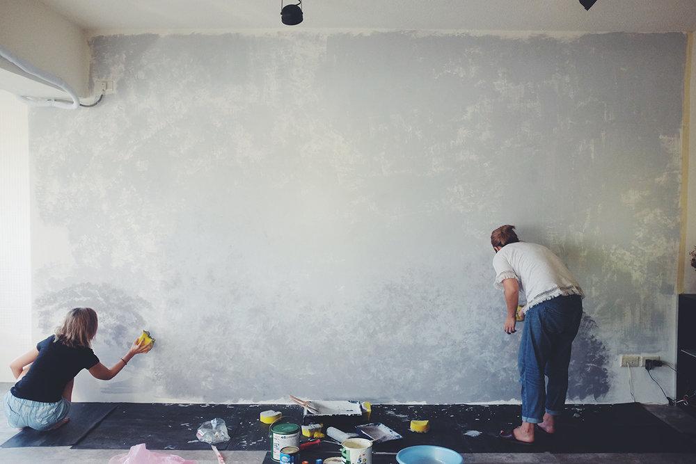 油漆DIY