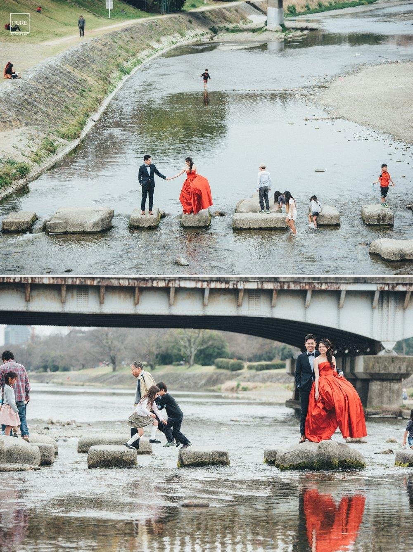 京都婚紗跳烏龜
