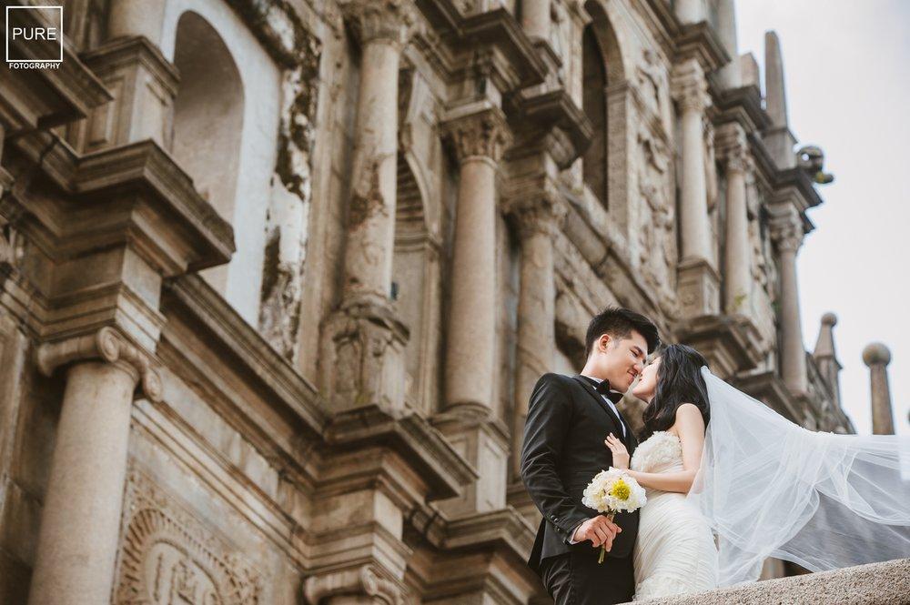 如何拍到沒有人的大三巴_旅遊婚紗_海外婚紗_purefoto