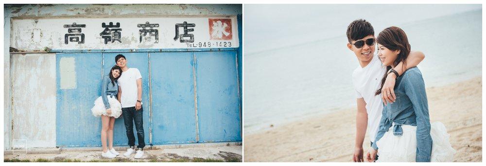 沖繩婚紗新原海灘