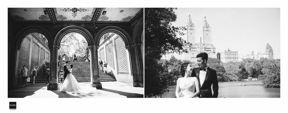 中央公園,紐約海外婚紗拍攝