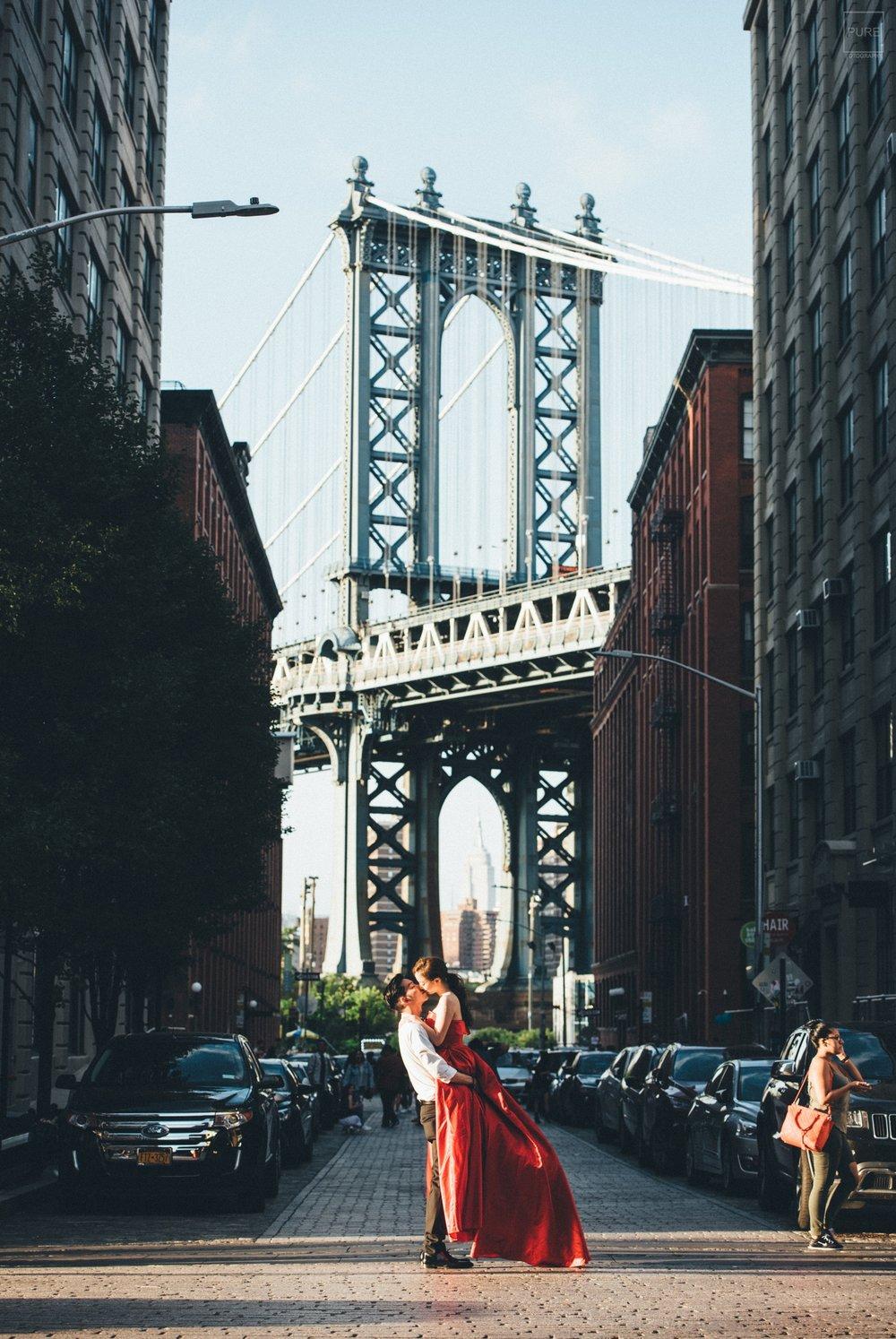 Dumbo布魯克林海外婚紗