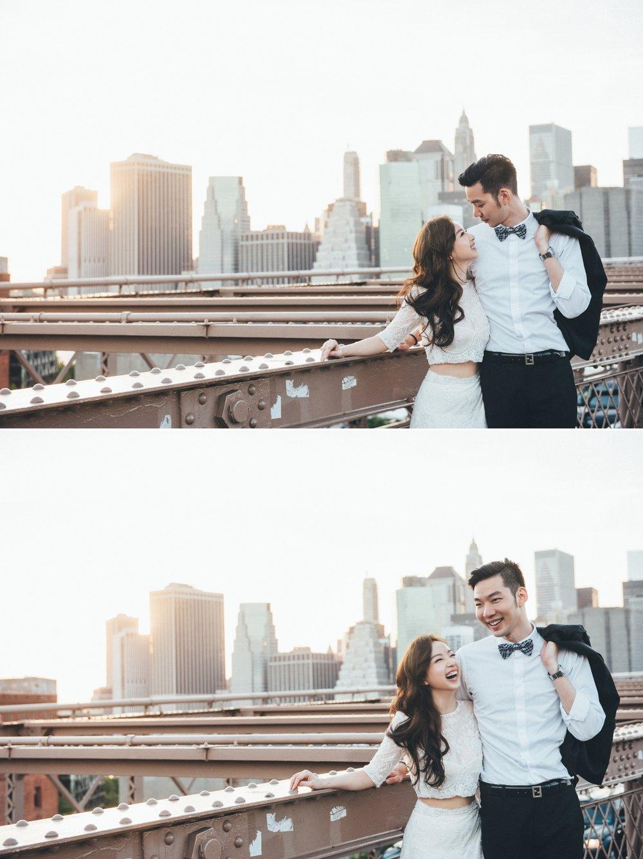 布魯克林紐約婚紗,BrooklynBridge