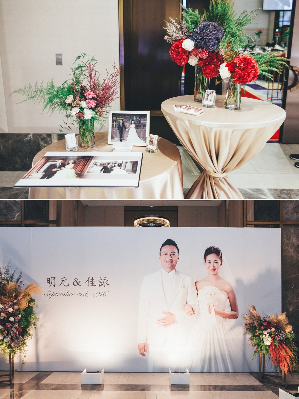 萬豪婚禮佈置_婚禮攝影purefoto