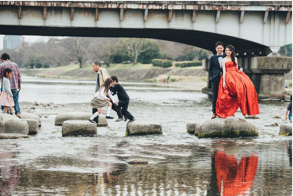 京都跳烏龜婚紗海外婚紗
