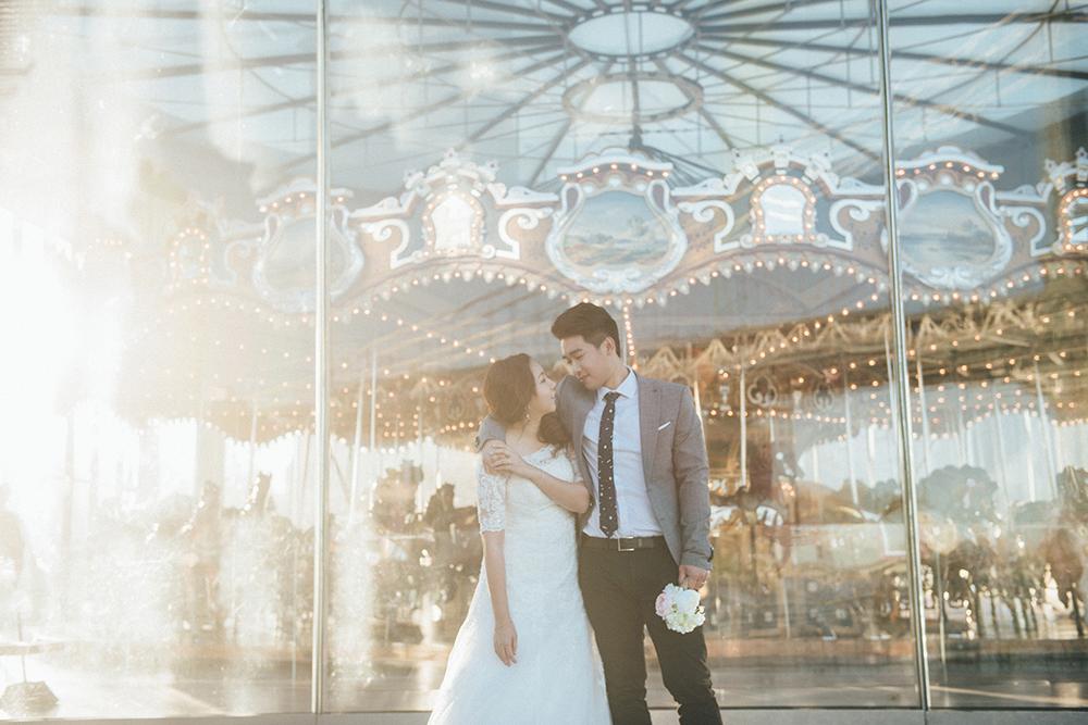 2016年紐約婚紗,地點在布魯克林。