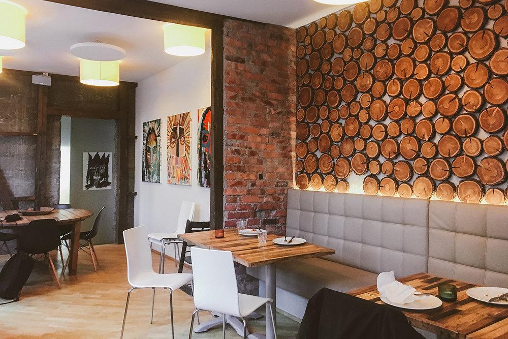 餐廳的空間