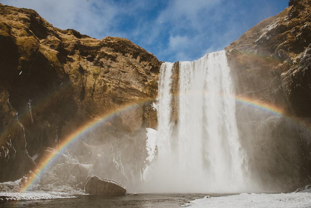 天氣好甚至可以看到雙層彩虹!