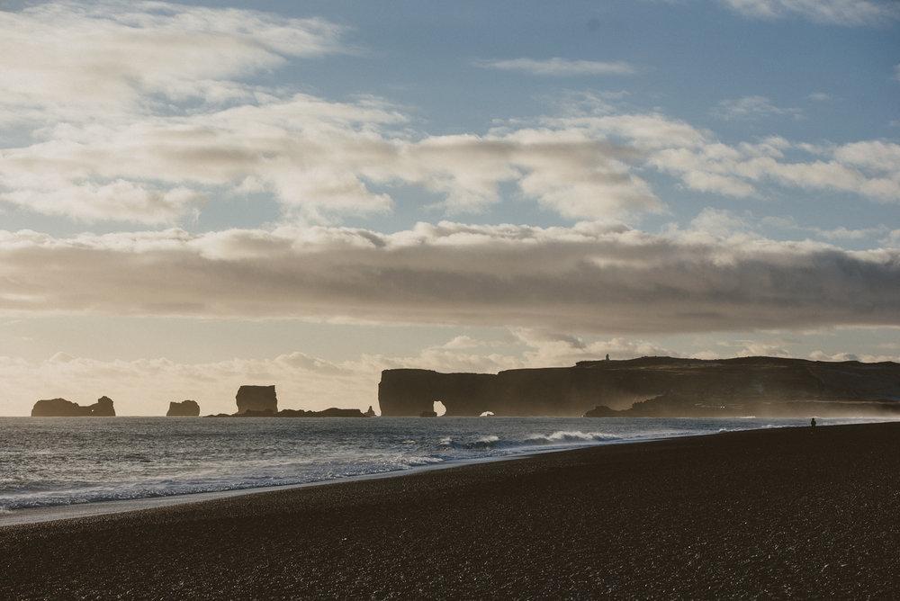 冰島景點黑沙灘