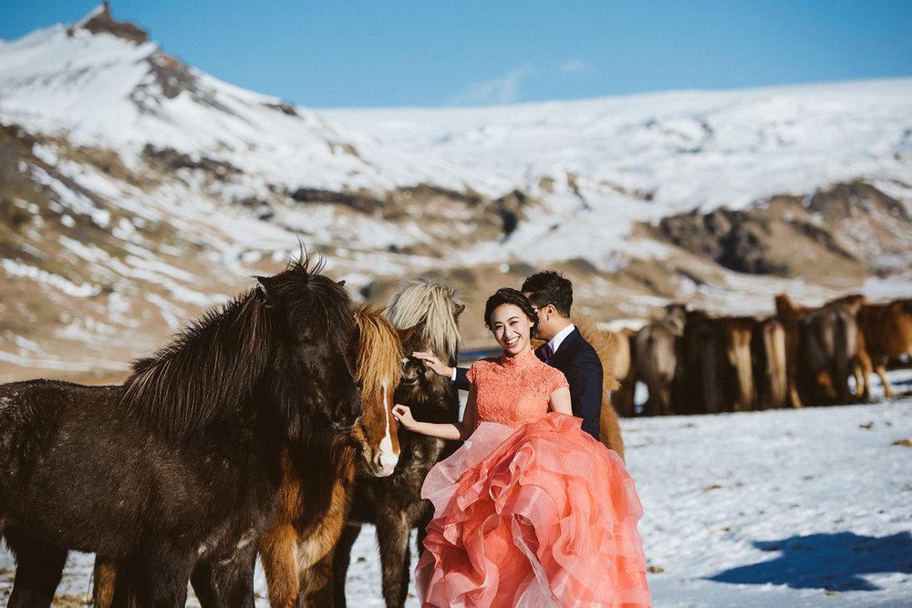 冰島海外婚紗