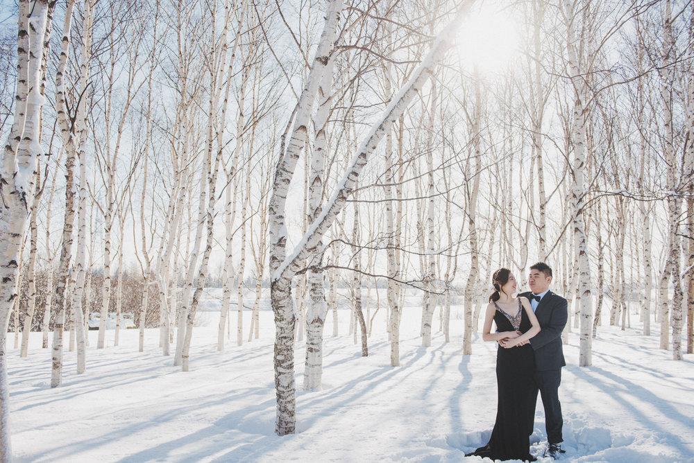 北海道HOKKAIDO - 1月份的北海道靜謐而雪白,在這純淨的透明的國度,歡迎您和PURE憶起寫下新的章節