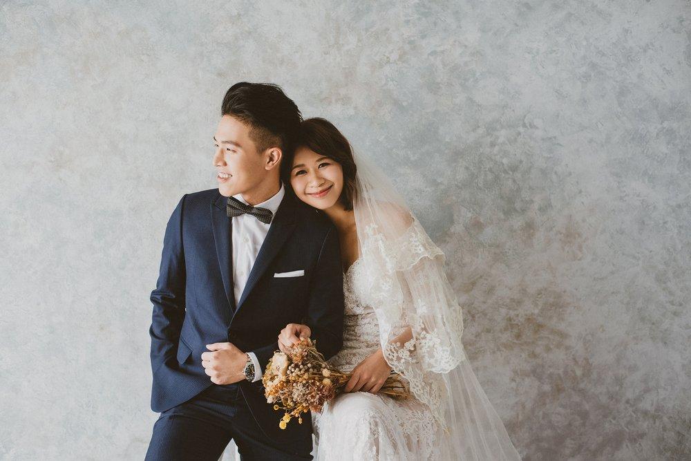 台北,棚拍,白紗婚紗