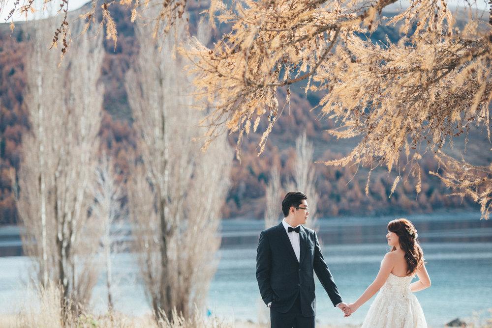 紐西蘭婚紗景點Tekapo