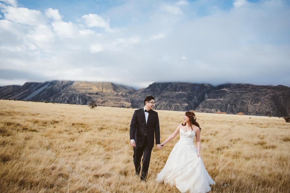 海外婚紗,紐西蘭婚紗