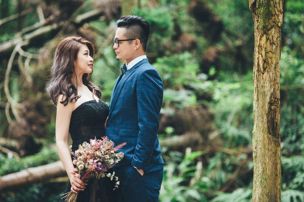 黑森林,黑禮服,婚紗拍攝