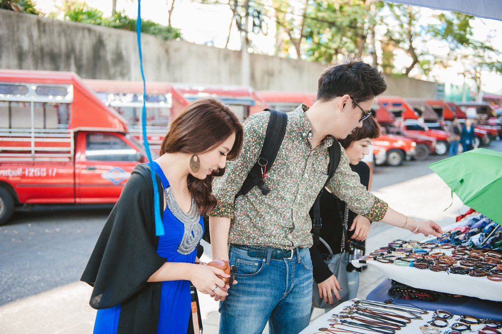曼谷最棒的就是當地小販,總是有著許多不同的創意小物。