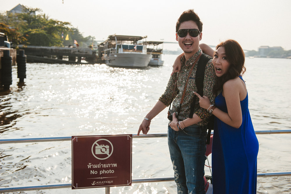 Bangkok engagement