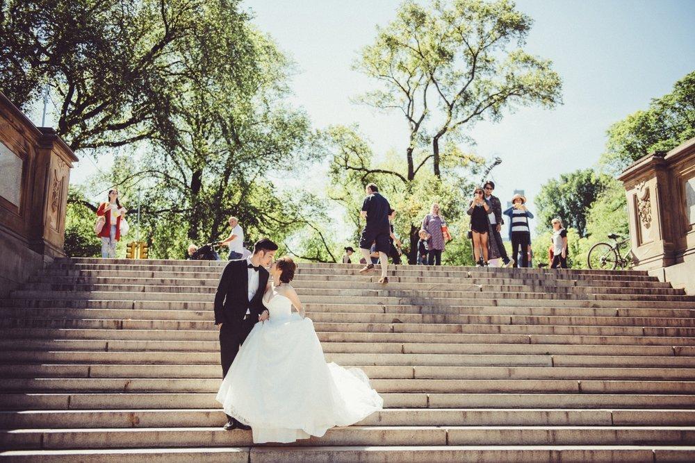 紐約中央公園婚紗攝影