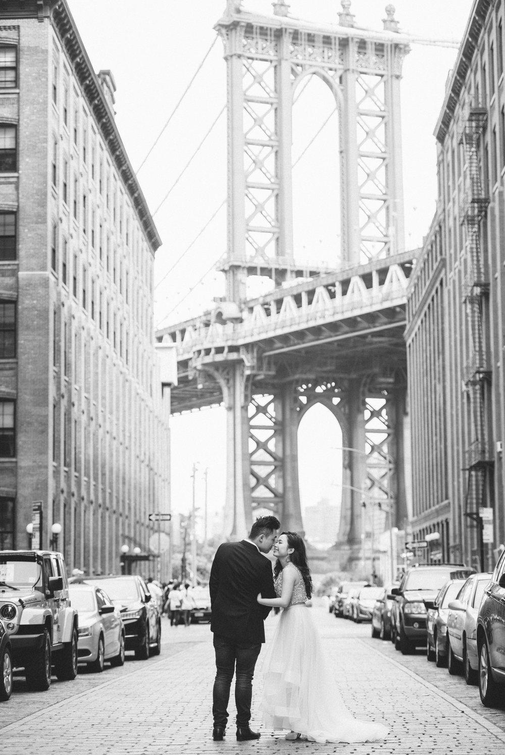 布魯克林BrooklynBridge_海外婚紗_PUREFOTO