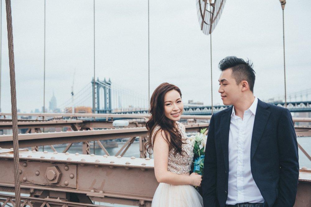 Brooklyn Bridge布魯克林婚紗_海外婚紗攝影_purefoto