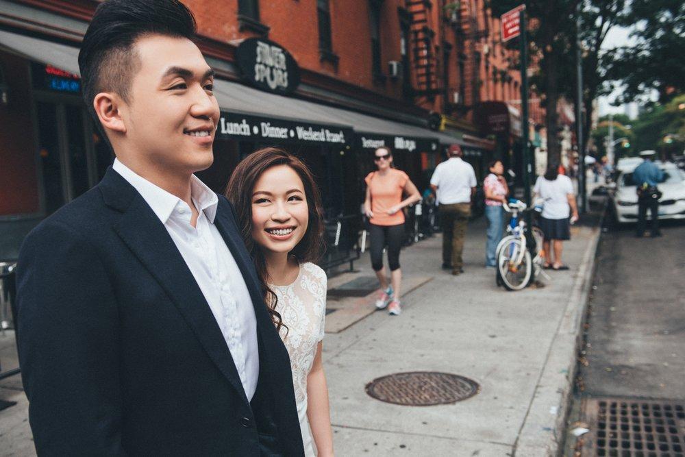 紐約街頭婚紗_Snap street _街景婚紗_purefoto