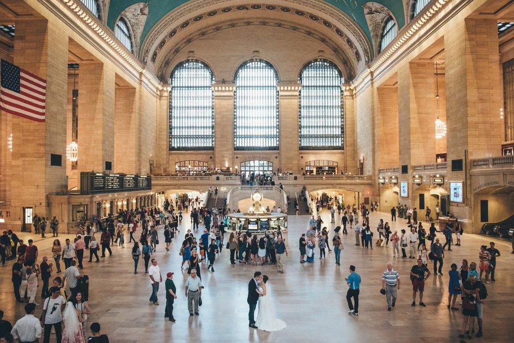 中央車站拍攝是需要申請的,想拍攝記得要先申請喔!