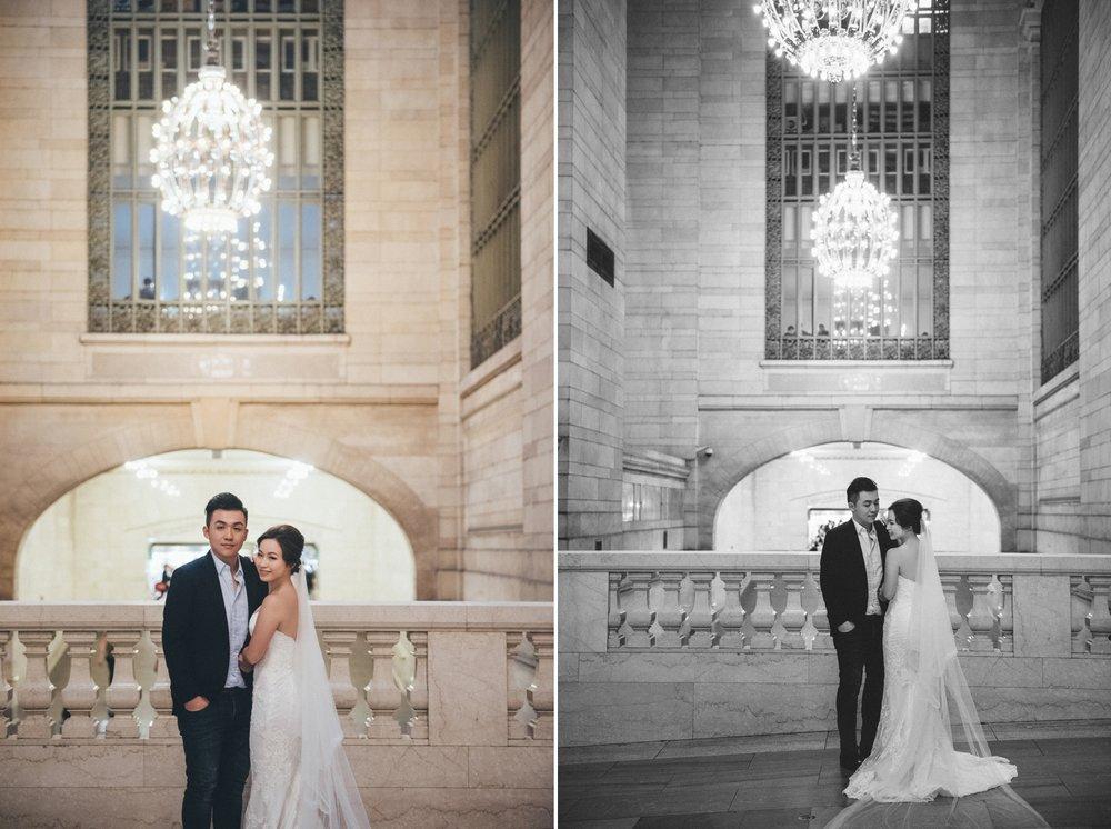 紐約海外婚紗_中央車站_自助婚紗_purefoto