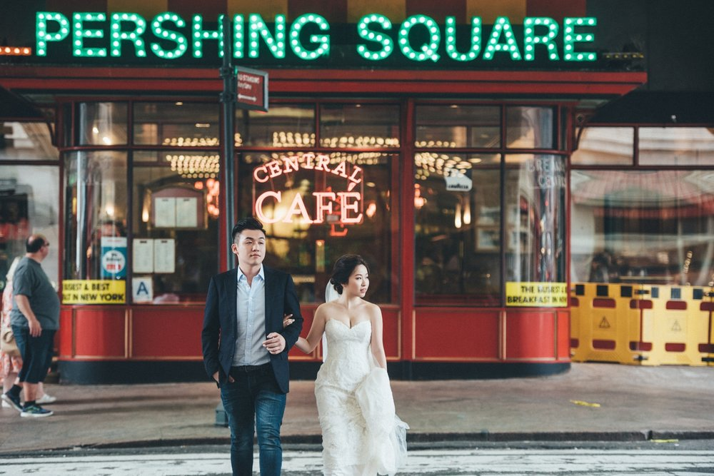 紐約街景婚紗_NYC海外婚紗_purefoto
