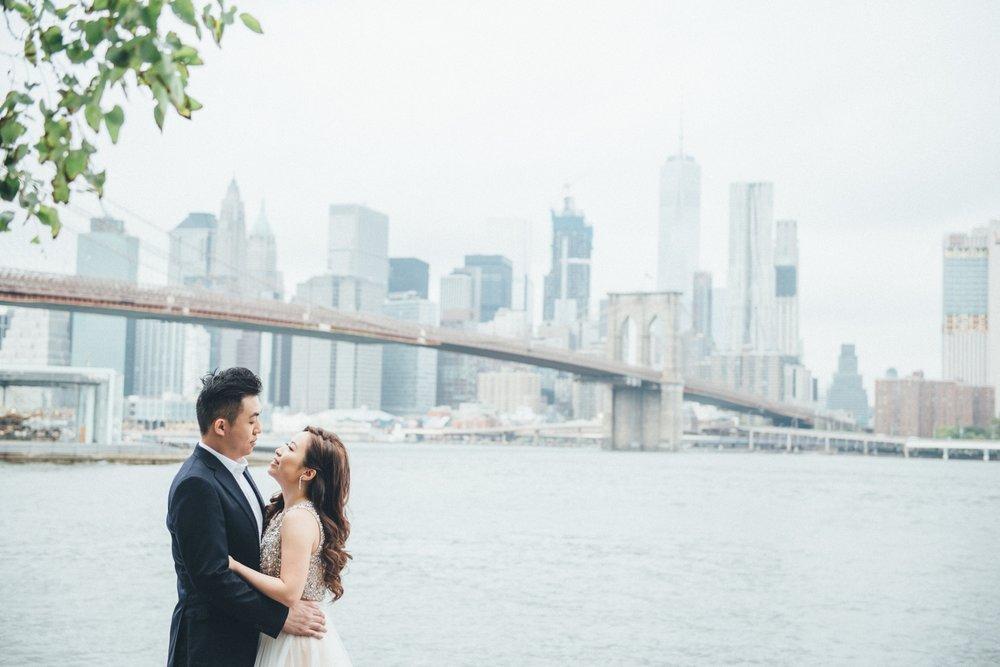 紐約海外婚紗_Dumbo_自助婚紗_PUREFOTO