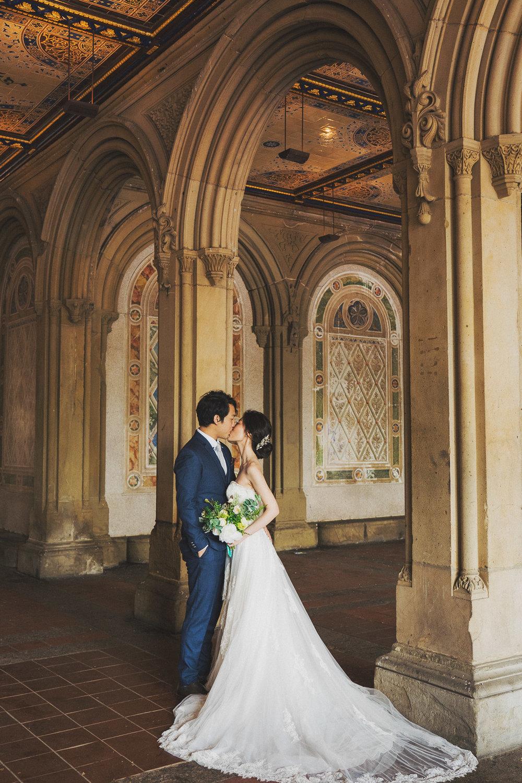 紐約海外婚紗_purefoto中央公園