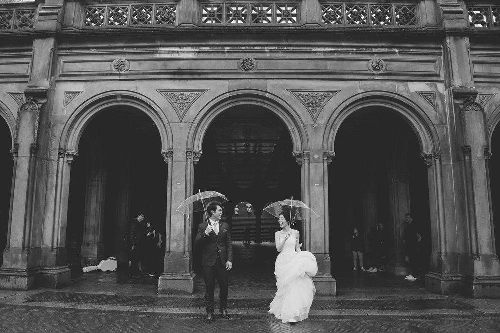 紐約婚紗_pure海外婚紗推薦_雨天婚紗