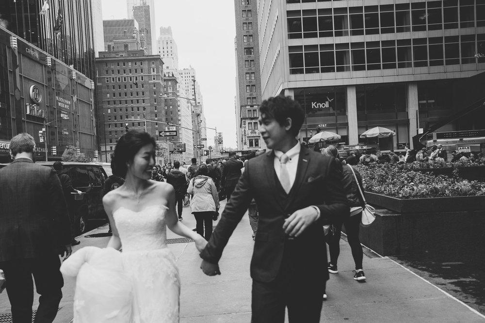 紐約街景婚紗拍攝_purefoto