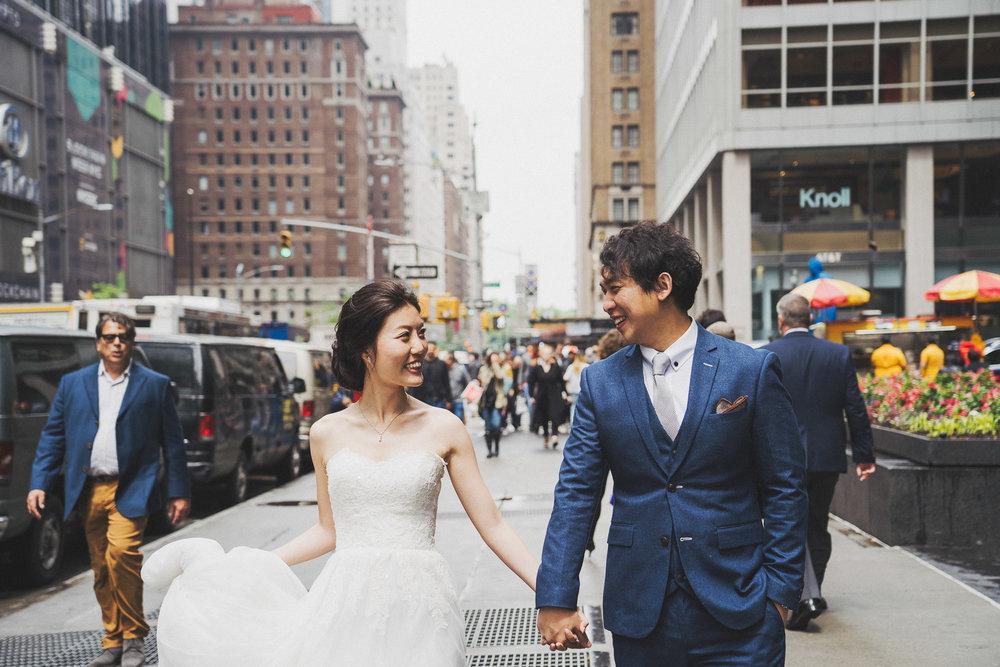 紐約街頭婚紗_海外婚紗推薦_purefoto