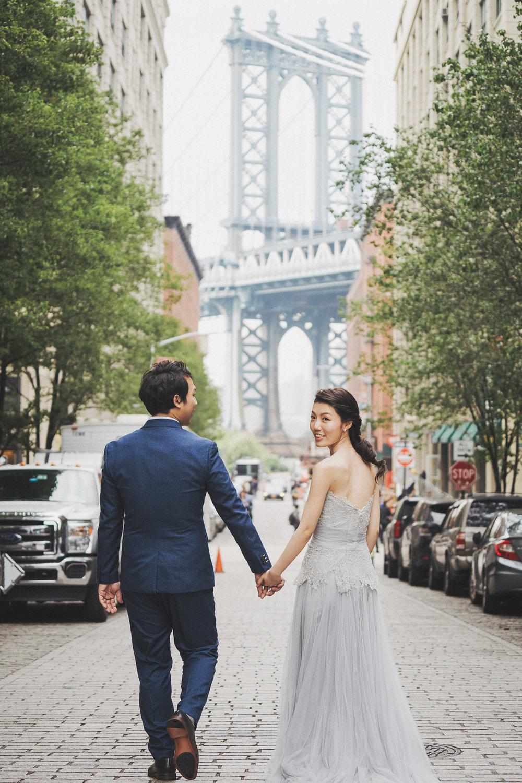 Dumbo紐約海外婚紗_purefoto