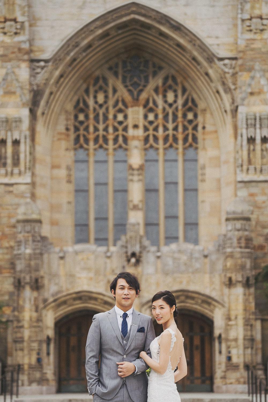 紐約婚紗_耶魯大學婚紗攝影_PUREFOTO