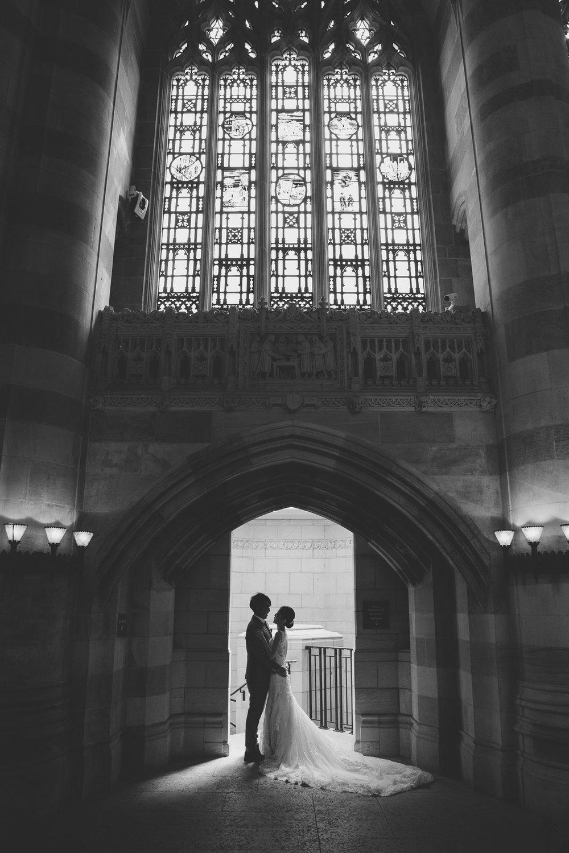 耶魯圖書館婚紗_purefoto海外婚紗
