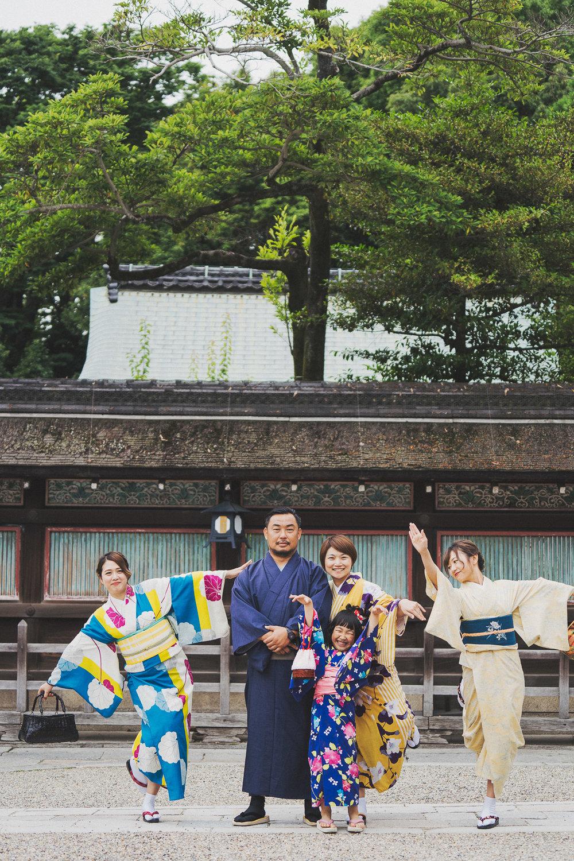京都八阪神社和服寫真