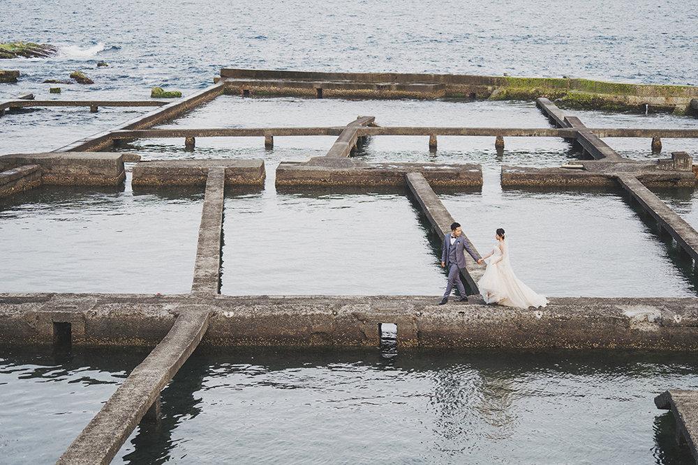 東北角,九孔池,婚紗