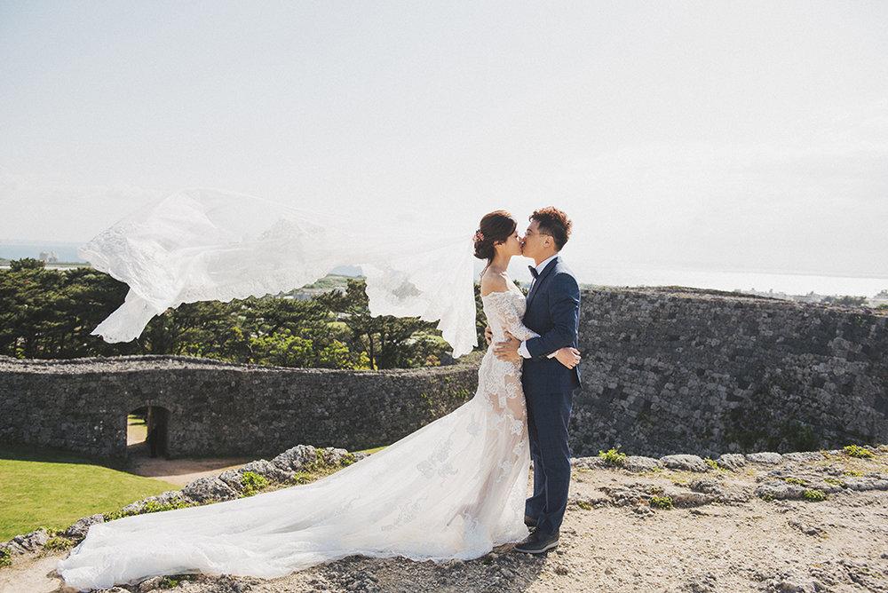 Okinawa,沖繩婚紗,海外婚紗,座喜味城