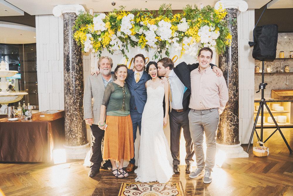 婚禮攝影全家福,美式婚禮攝影師