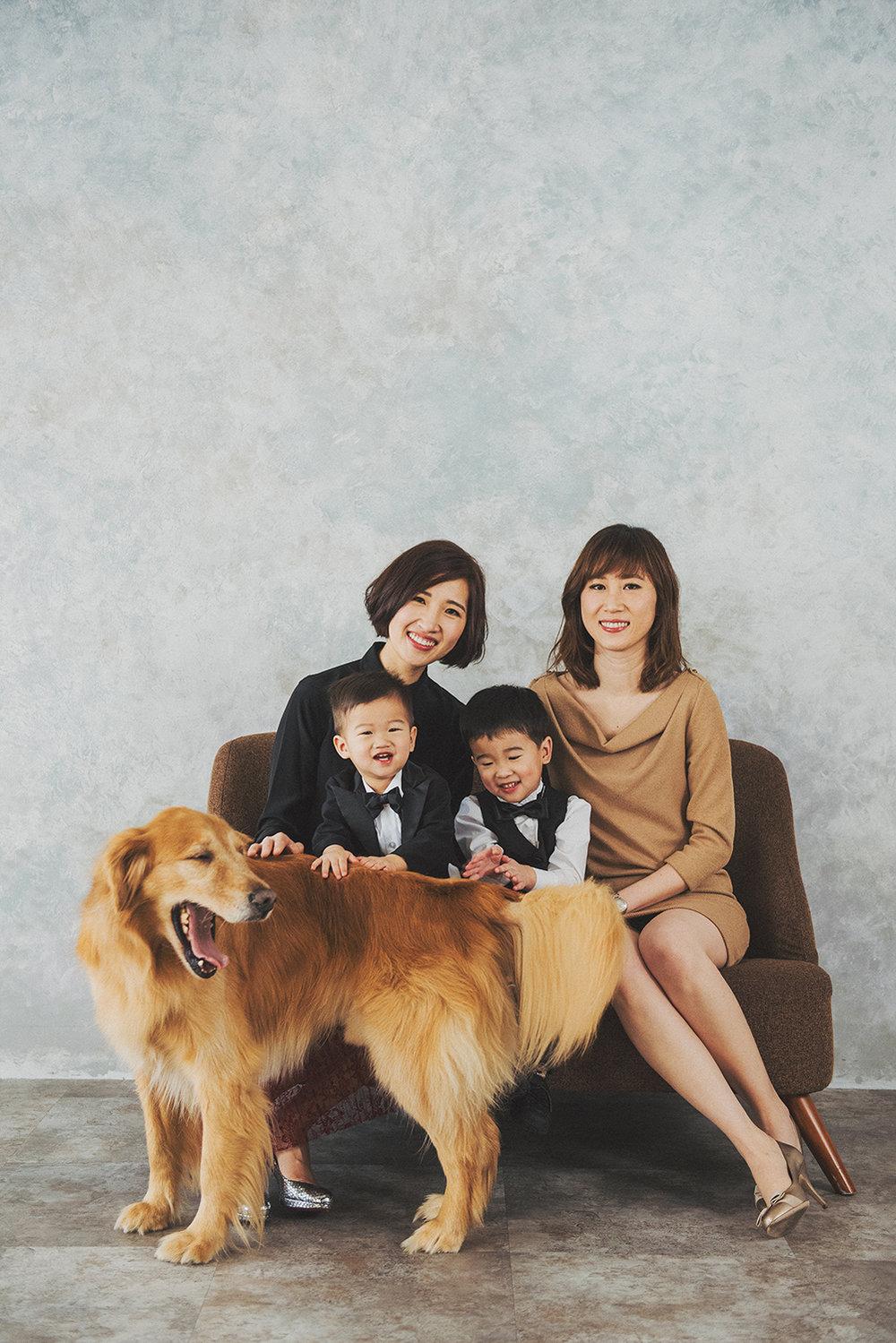 寵物寫真,全家福寫真,全家福方案